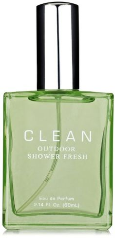 Clean Eau De Parfum, Outdoor Shower Fresh, 2.14-Fluid Ounce $42.93 (save $33.07) Clean Perfume, What In My Bag, Smell Good, Essential Oils, Perfume Bottles, Fragrance, Hair Beauty, Cleaning