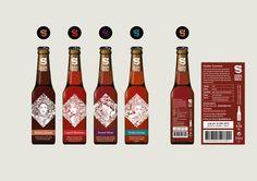 Core beers label design version 1