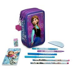 Disney Frozen Stationery Kit | Disney StoreFrozen Stationery Kit - They'll travel to a land of pure imagination with our <i>Frozen</i> zip kit containing an avalanche of art supplies for hours of creative play.