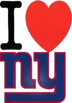 I ❤ NY...giants that is!