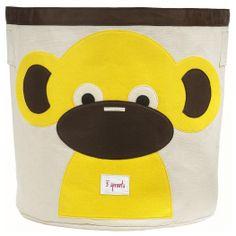 3 Sprouts Monkey Storage Bin. #laylagrayce #nursery #children #new