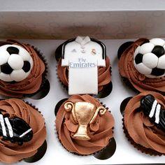 Cupcakes del Real Madrid