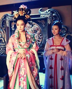 Zhang Xinyu in 'Empress of China'. Traditional Fashion, Traditional Dresses, Traditional Chinese, Oriental Fashion, Asian Fashion, The Empress Of China, Chinese Clothing, Period Costumes, Ancient China