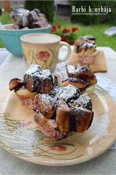 Barbi v kuchyni: Cocoa Fantan Cocoa, French Toast, Muffin, Barbie, Breakfast, Diy, Morning Coffee, Bricolage, Muffins