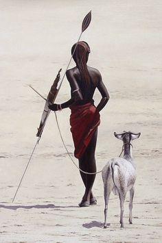 Africa the Maasai of Tanzania Cultures Du Monde, World Cultures, African Tribes, African Art, African Beauty, African Fashion, Maasai People, Tribal People, Art Africain
