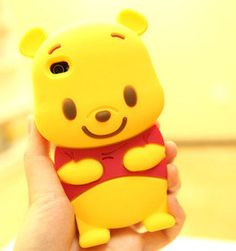 New 3D Cute Disney Winnie The Pooh Bear soft silicone case cover For iphone 5 5G