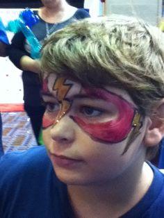 #flashfacepaint Flash Face Paint, Carnival, Painting, Carnavals, Painting Art, Paintings, Painted Canvas, Drawings