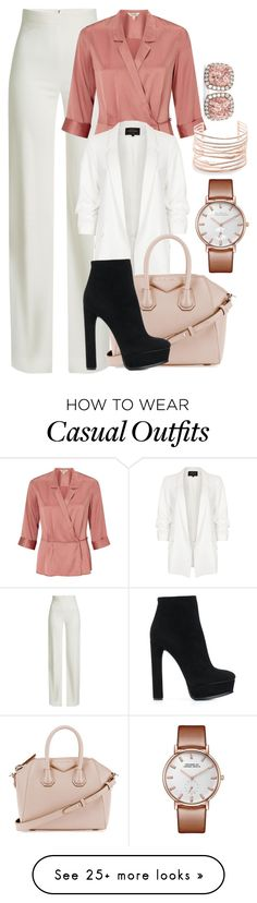 """""""497"""" by jesuisleclown on Polyvore featuring Brandon Maxwell, Miss Selfridge, River Island, Givenchy, Casadei, Alexis Bittar and Allurez"""