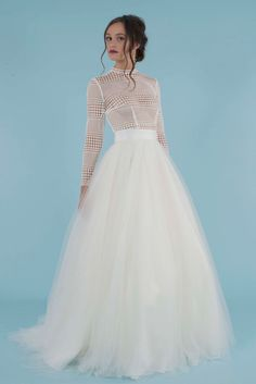Tulle Overskirt That Can Be Worn Over Various Styles Of Dresses