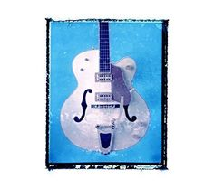 Blue Guitar art music print / boys room / Guy Gift / Rock n roll art / music gift idea. • Our music and guitar themed art prints make great music gift ideas for men, guys, girls, kids, musicians, music lovers, • Choose the size print you want from drop down menu / custom sizes available upon request • Printed with archival inks on acid free paper • Ships FREE to USA Unframed rolled in tube All orders shipped out within 24 HOURS • Great for people who love music decor, guitars, rock n roll...