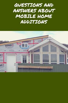 Thinking about adding to your existing mobile home? Mobile Home Kitchens, Log Home Kitchens, Prefab Homes, Log Homes, Barn Homes, Mobile Home Addition, Mobile Home Makeovers, Room Makeovers, Mobile Home Repair