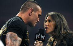 Randy Orton and Stephanie Mcmahon Monday Night Raw 1/26/09