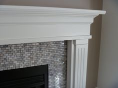 Good Totally Free gray Fireplace Tile Thoughts It's winter. While the excellent skiing conditions has not yet gotten nonetheless, the frosty started off trashing wit Subway Tile Fireplace, Fireplace Tile Surround, Grey Fireplace, Fireplace Redo, Fireplace Remodel, Fireplace Surrounds, Fireplace Design, Fireplace Ideas, Fireplace Mantles