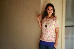 Holi Party Shirt Pattern by Joji Knits