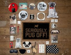 Typo's new homewares and stationery range - pug decor