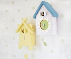 Shop cuckoo clocks from Pottery Barn Kids. Find expertly crafted kids and baby furniture, decor and accessories, including a variety of cuckoo clocks. Cute Clock, Clock For Kids, Yellow Nursery, Baby Shower Fun, Kids Room Design, Room Accessories, Room Themes, Pottery Barn Kids, Bird Cage