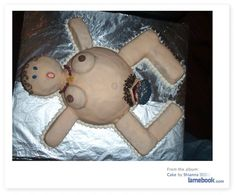 Young, Professional and Bored: Another CLASSY Baby Shower Cake