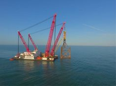 Scaldis decommissions Offshore Platform Horne & Wren