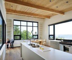 Une cuisine de campagne moderne. #CONCOURS Gagnez un nouveau lave-vaiselle!  Cliquez ici pour participer au #concours #Thermador
