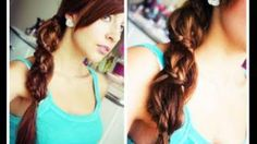 Spiral Lace Braid Ponytail - You Tube Video
