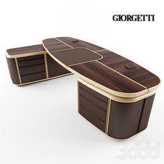 Giorgetti-Spa Tycoon – Tables and desk ideas Executive Office Desk, Ceo Office, Luxury Office, Office Table Design, Office Furniture Design, Table Furniture, Business Office Decor, Resource Furniture, Interior Exterior