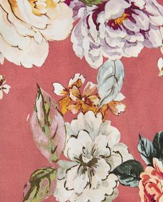 Image 7 of FLORAL PRINT BLOUSE from Zara