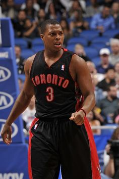 ORLANDO, FL - JANUARY 24: Kyle Lowry #3 of the Toronto Raptors walks up the court against the Orlando Magic during the game on January 24, 2013 at Amway Center in Orlando, Florida. NOTE TO USER: User expressly acknowledges and agrees that, by downloading and or using this photograph, User is consenting to the terms and conditions of the Getty Images License Agreement. Mandatory Copyright Notice: Copyright 2013 NBAE (Photo by Fernando Medina/NBAE via Getty Images)