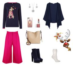 """""""Christmas Sweater 2"""" by rboowybe ❤ liked on Polyvore featuring Joules, Casadei, Calvin Klein, Casetify, Clinique, BERRICLE and Ozone"""