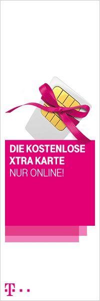 Kostenlose Prepaid Karte von der Telekom - kein Vertrag, keine Grundgebühr