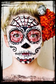 Dios de los Muertos makeup - from the My Face is My Canvas pool on Flickr
