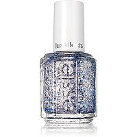 Essie - Holiday Luxe Effects Nail Polish Collection in Frilling Me Softly (platinum and cobalt) #ultabeauty