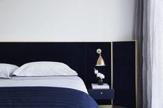 Hotel Bedroom Design, Home Decor Bedroom, Bed Frame Design, Bed Design, Minimalist Living, Dream Bedroom, Master Bedroom, Elle Decor, A Boutique