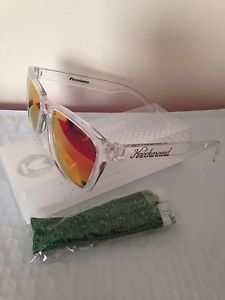 fc1c654ed7 Knockaround Sunglasses Clear Red Sunset Classics