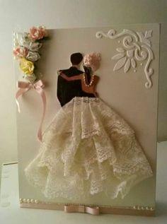 Ideas For Art Deco Wedding Card Invitation Ideas Tarjetas Diy, Wedding Crafts, Wedding Card Design, Cute Wedding I… Wedding Anniversary Cards, Wedding Invitation Cards, Invitation Ideas, Art Deco Wedding, Diy Wedding, Wedding Crafts, Wedding Ideas, Handmade Crafts, Diy Crafts