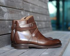Zonkey Boot hand welted Jodhpur boots made from... | ZONKEY BOOT