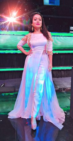 Rashikaprajapat@gmail.com Designer Party Wear Dresses, Kurti Designs Party Wear, Indian Designer Outfits, Lehenga Designs, Indian Outfits, Shrug For Dresses, Sleeves Designs For Dresses, Indian Gowns Dresses, Stylish Dress Designs