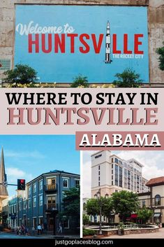 Our fave hotel options in Huntsville Alabama! Luxury Travel, Travel Usa, Travel Tips, Travel Info, Luxury Hotels, Travel Guides, Us Travel Destinations, Places To Travel, Travel Around The World