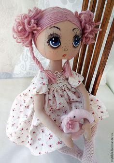 Girl Dolls, Baby Dolls, Stitch Doll, Doll Painting, Fabric Toys, Sewing Dolls, Kokeshi Dolls, Soft Dolls, Stuffed Toys Patterns