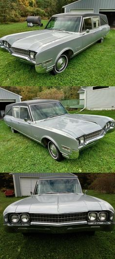1966 Oldsmobile 98 Cotner-Bevington Hearse [well kept in great shape]