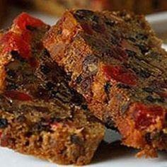 Fruit Cake Recipes, Moist Fruit Cake Recipe, Fruit Cakes, Food Cakes, Cupcake Cakes, Dessert Recipes, Cupcakes, Christmas Fruit Cake Recipe, Christmas Desserts