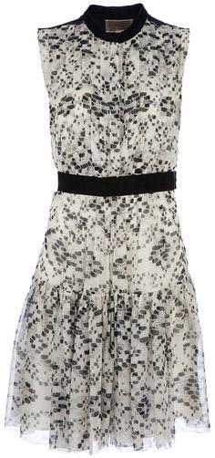 GIAMBATISTTA VALLI Patterned Silk Dress