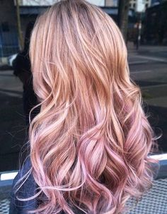 27 Cute & Pretty Rose Pink Hair Color Ideas