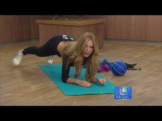 Reto quema-grasa de espalda, cintura, abdomen y brazo con Claudia Molina! - YouTube