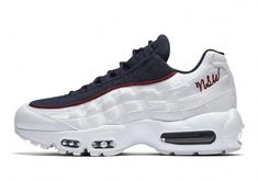 "the best attitude 591e1 7687c Nike Adds A Cursive ""NSW"" Logo To The Air Max 95  Sneakers"