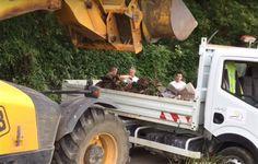 Agacé par les nombreux déversements sauvages d'ordures et autres gravats sur le territoire communal, Christophe Dietrich, maire de…