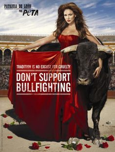 Don't support bullfighting