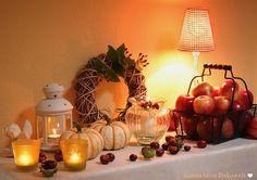 Gemütliche Herbst-Stimmung im Haus...