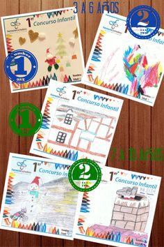 Dibujos ganadores del Concurso