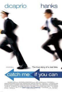 Catch Me If You Can With Leonardo DiCaprio, Tom Hanks, Christopher Walken. Written by Jeff Nathanson, Frank Abagnale Jr. and Stan Redding. Directed by Steven Spielberg. Frank Abagnale, Film Movie, See Movie, Movie List, Martin Sheen, Tom Hanks, Thriller, Image Internet, Film Mythique