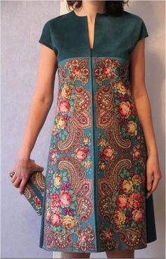traditional batik dress ideas to look fashionable 3 – Trendy Fashion Ideas Simple Dresses, Casual Dresses, Dresses With Sleeves, African Attire, African Dress, Batik Fashion, Designs For Dresses, Latest African Fashion Dresses, Feather Dress